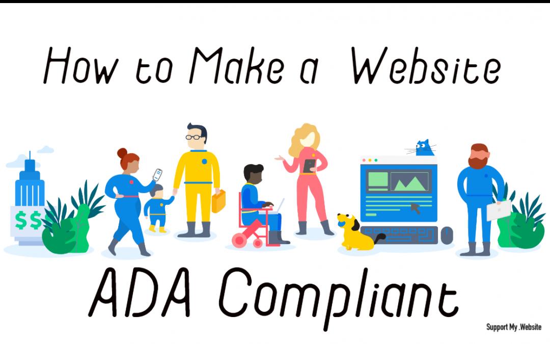 How to Make a Squarespace Website ADA Compliant