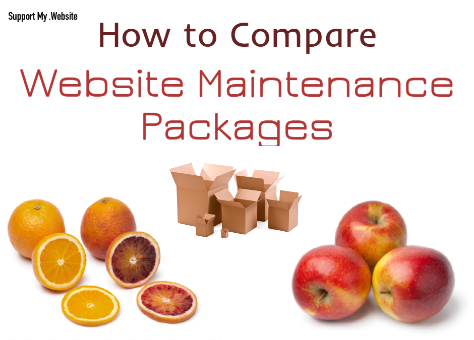 How to Compare Website Maintenance Packages