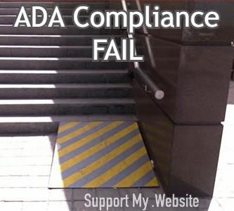 ADA Compliance Fail